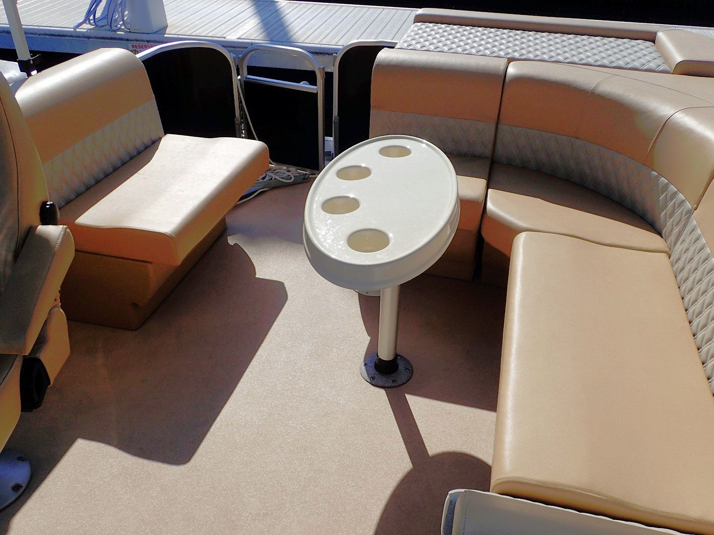 Brilliant 22 Foot Premium Party Barge Pontoon Boat Rental Picture Alphanode Cool Chair Designs And Ideas Alphanodeonline