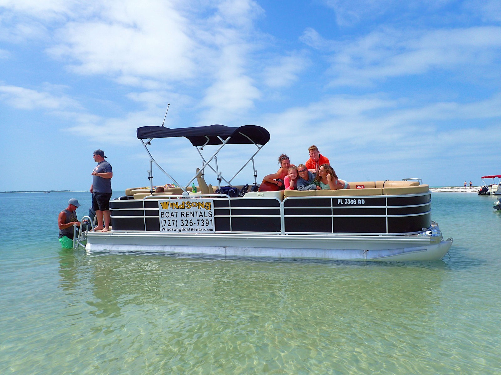 Strange 22 Foot Premium Party Barge Pontoon Boat Rental Picture Alphanode Cool Chair Designs And Ideas Alphanodeonline