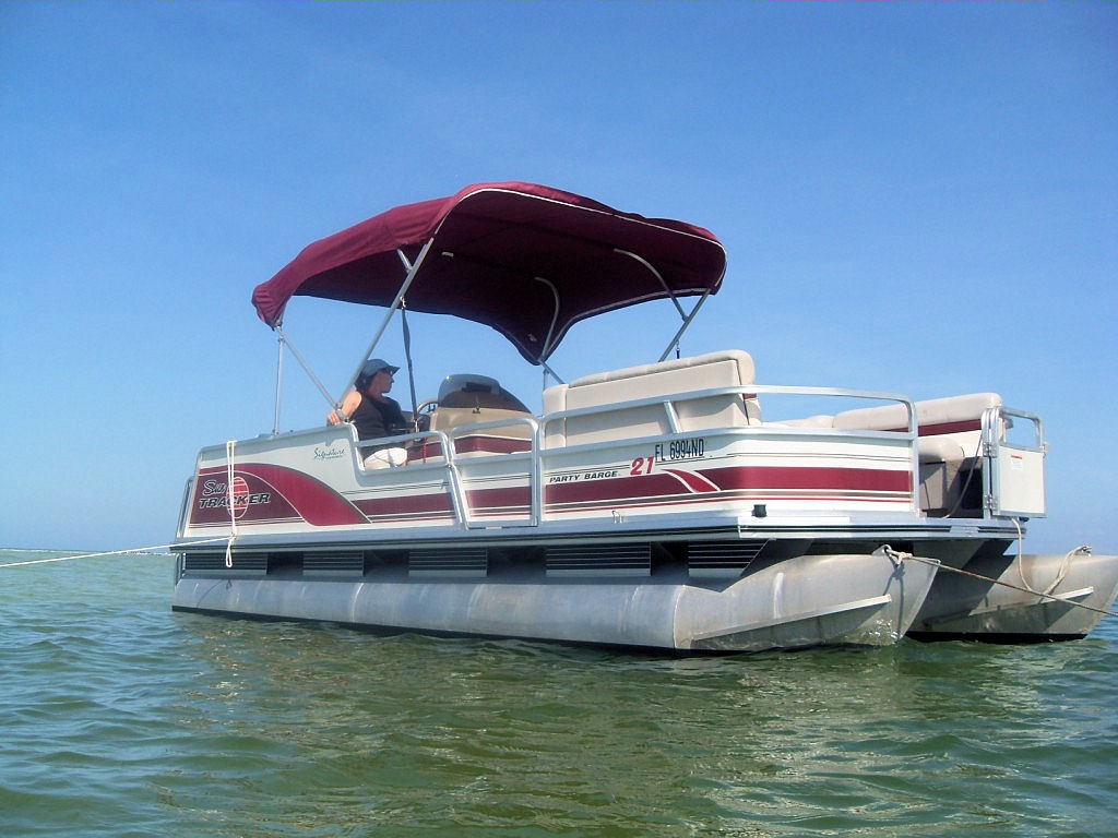 20 Foot Party Barge Pontoon Boat Picture Gallery Tampa