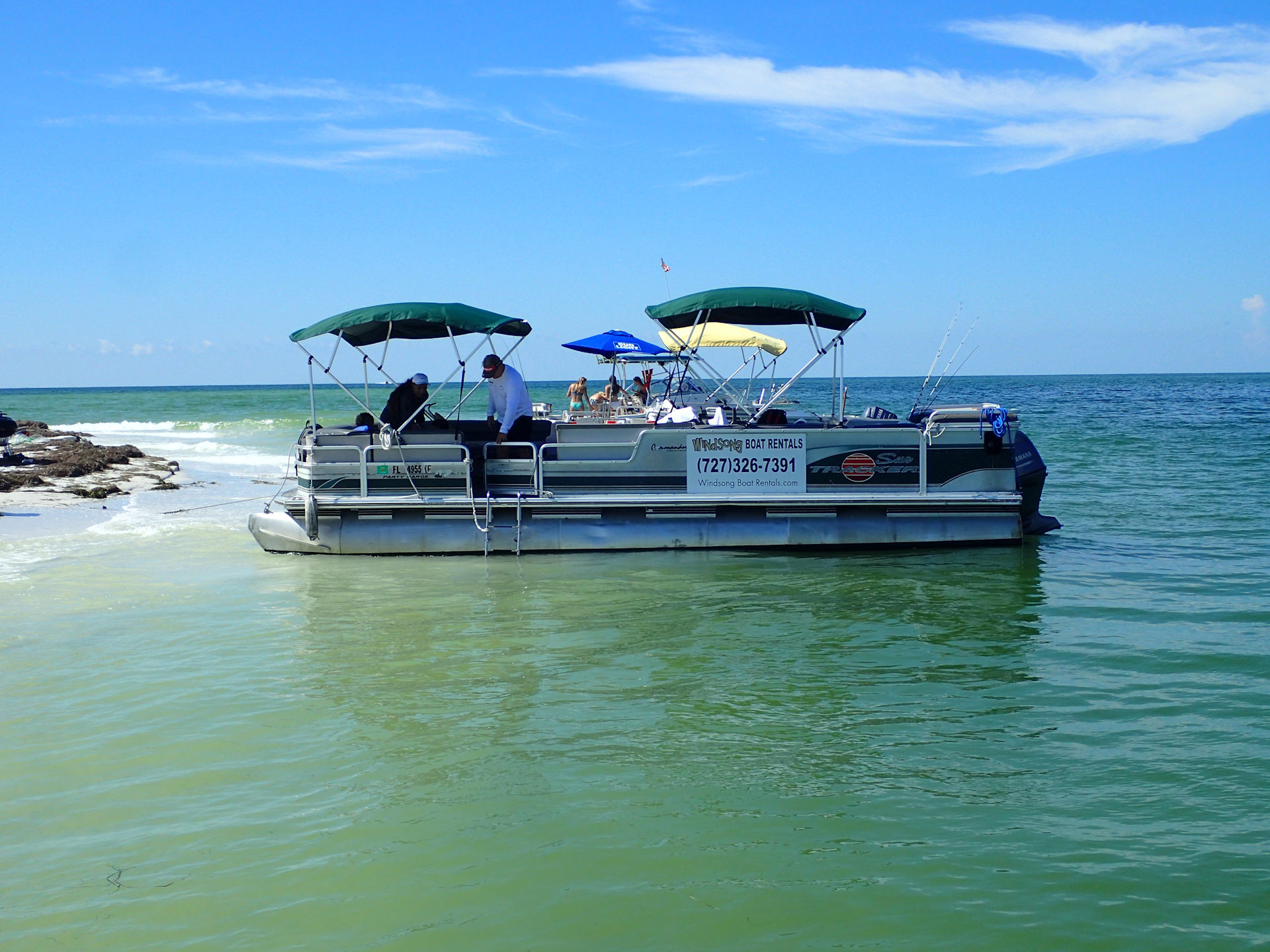 27 Foot Party Limo Pontoon Boat Rental Picture Gallery