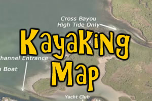 Kayaking Area Map