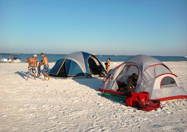 Overnight Camping, Tampa