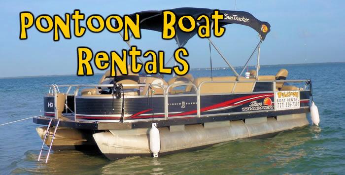 Pontoon Boat Rental Tampa Bay Area Canoe And Kayak Rentals