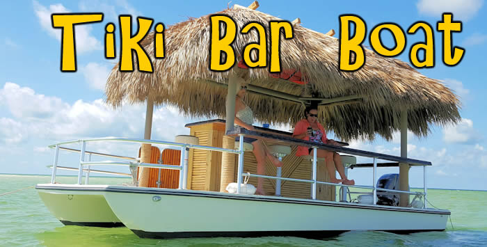 Tiki Bar Boat Booze Cruise