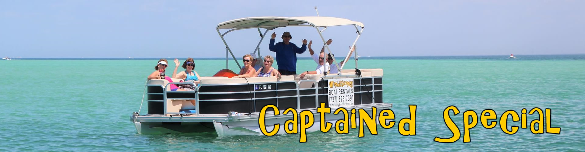 Captained Boat Rates, Tampa