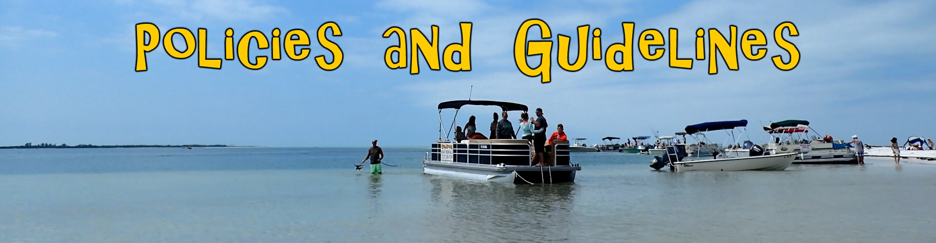 Boat Rental guidelines, Tampa
