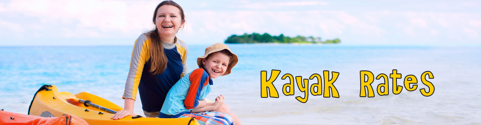 Kayak and Canoe Rental Rates, Tampa