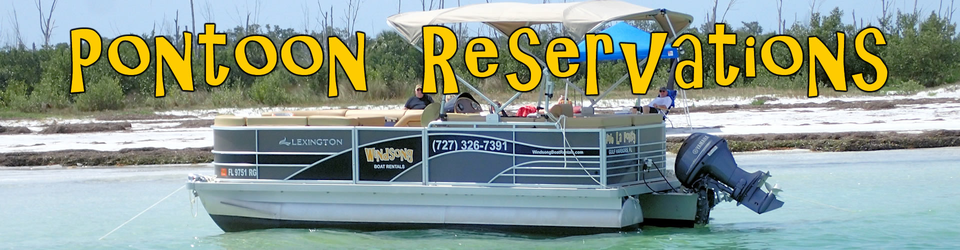 Boat Rental Reservations, Tampa