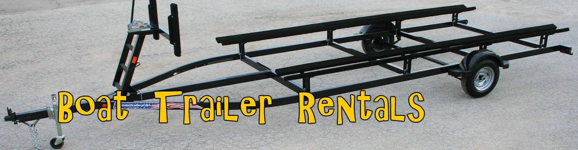 Boat Trailer Rental Rates, Tampa