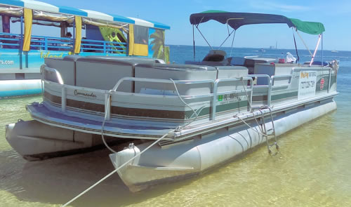 18 foot pontoon rental