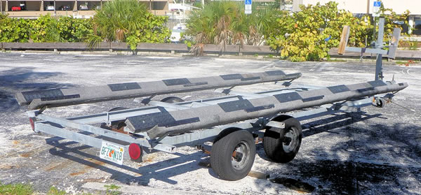 Dual Axle Trailer Rental